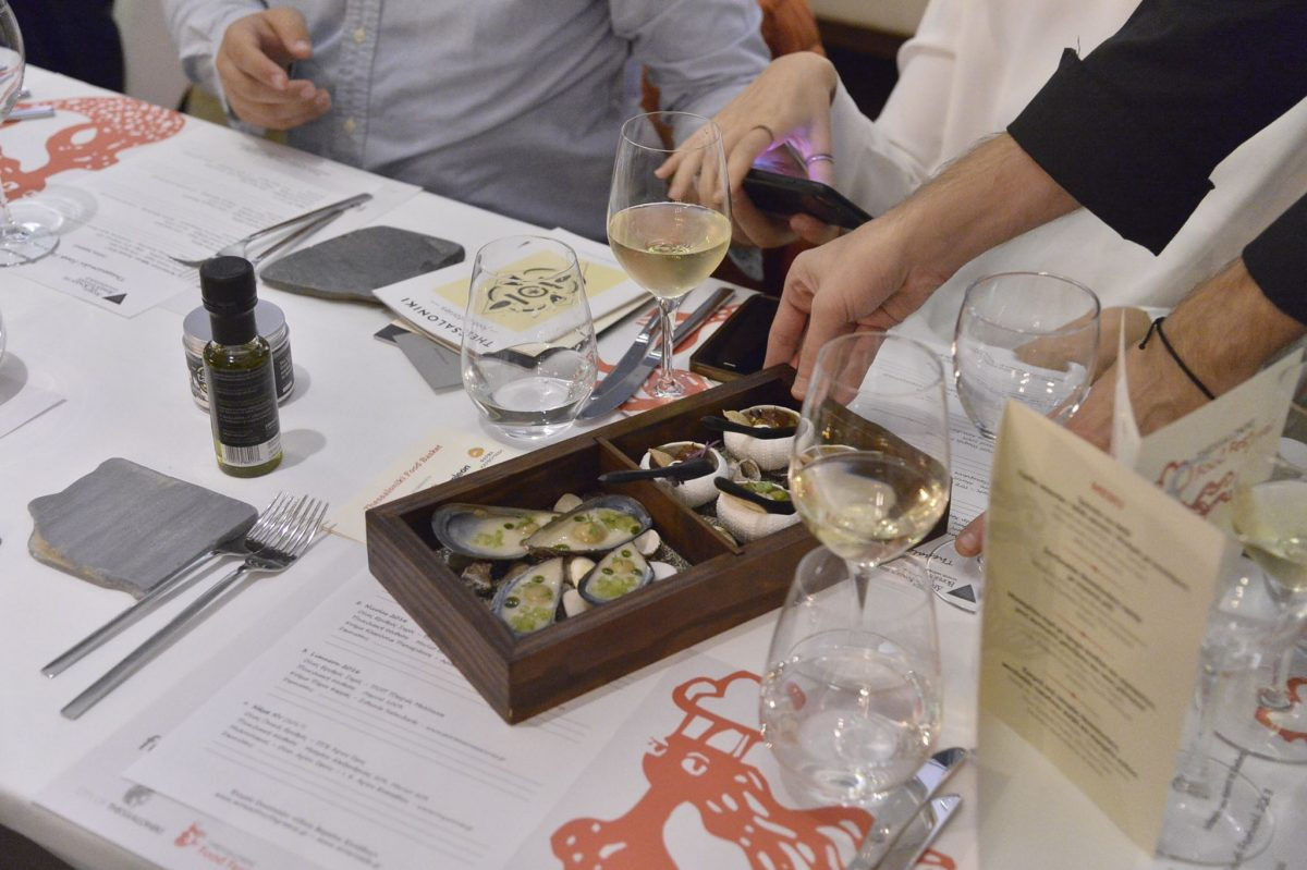 Gastronomy charity dinner of Thessaloniki Food Festival